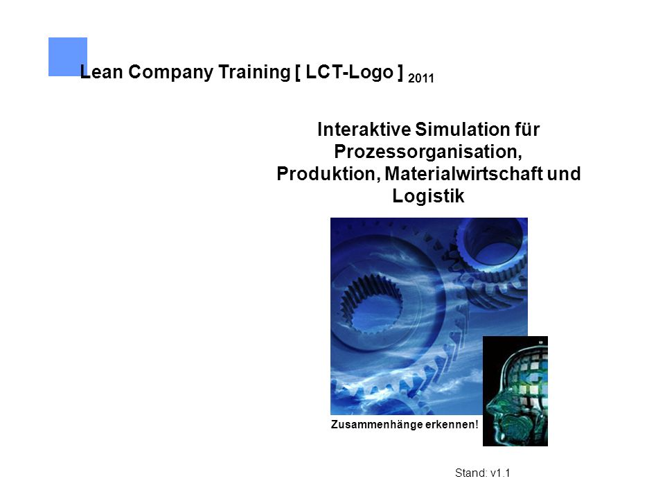 Lean Company Training [ LCT-Logo ] 2011